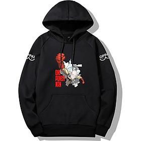 Áo hoodie nỉ nam One Punch Man dày dặn ấm áp, phong cách thời trang