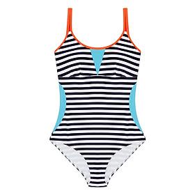 Bộ Bơi Liền Mảnh Viviane Striped Swimsuit SW0716_02 - Sọc Đen