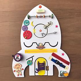Bảng bận rộn, Busy board hình tên lửa MỚI