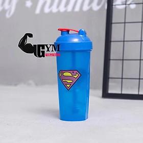 Bình lắc thể thao shake bottle Super Hero