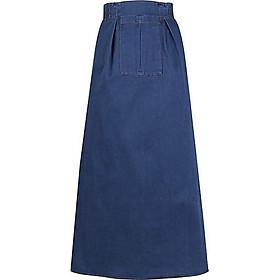 Váy chống nắng Jean trơn dày dặn
