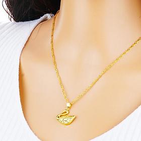 Bộ trang sức Thiên Nga mạ vàng 24k siêu bền màu