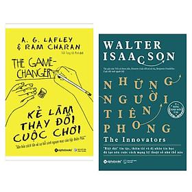 Combo Sách Hay:  Kẻ Làm Thay Đổi Cuộc Chơi (Tái Bản 2018) + Những Người Tiên Phong - (Cuốn Sách Về Những Nhà Lãnh Đạo Xuất Sắc / Tặng Kèm Bookmark Greenlife)