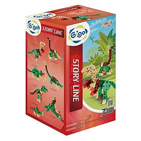Đồ Chơi Lắp Ráp Gigo Toys – Mô Hình Công Viên Khủng Long Dino Park 7424 (120 Mảnh Ghép)