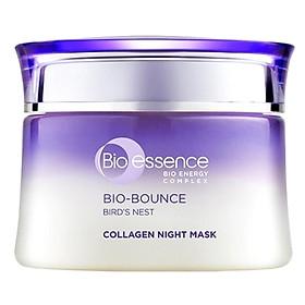 Mặt Nạ Ngủ Dưỡng Da Căng Mọng Và Tươi Sáng Bio-essence Bio-Bounce (50g)