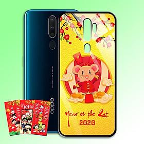 Ốp Lưng Kính Cường Lực cho điện thoại Oppo A9 2020 - 0383 7956 HPNY2020 10 - Tặng kèm bao lì xì Chúc mừng năm mới - Hàng Chính Hãng