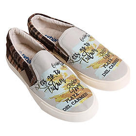 Giày Slip On Nữ Urban UL1602OL - Be