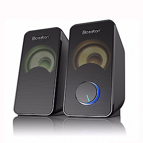 Loa vi tính 2.0 Bosston Z220 Led RGB - Hàng chính hãng