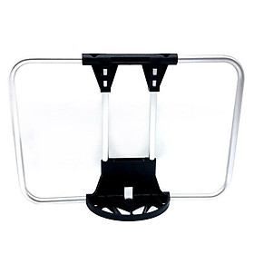 Premium Bike Bag Bracket Rack Backpack Water Bottle Cargo Holder Designed For Brompton Folding Bike Front Carrier Block