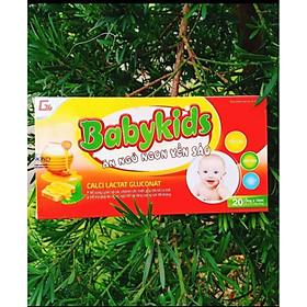 Siro Yến Sào Babykids cho trẻ biếng ăn (20x10ml)
