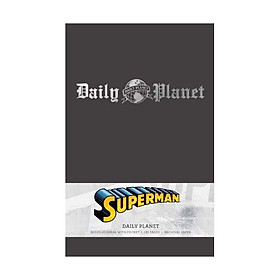 Superman: Daily Planet Hc Ruled Journal