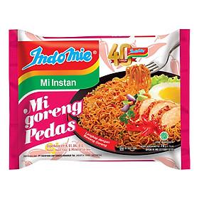 Thùng 40 Gói Mì Xào Khô Indomie Vị Cay Nồng - Mi Goreng Pedas (79g x 40)