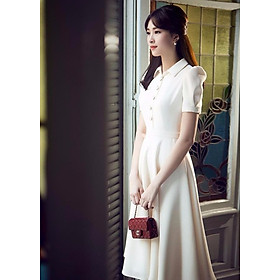 Đầm Nữ Vintage Cổ Sơ Mi Misa Fashion MS320