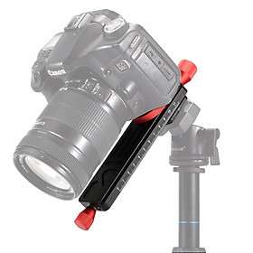 Focusing Rail Slider Close-up Shooting Tripod Head Quick Release Plate Holder for DSLR Camera