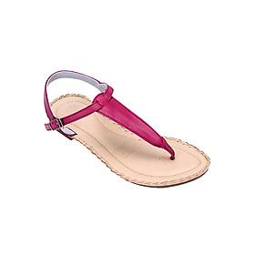 Giày Sandal Nữ Đế Thấp Huy Hoàng HT7026 - Tím