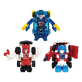 Mô Hình (Red alert - Ultra Magnus - Mirage) Bộ 3 robot Transformer Bot shots Battle game Hasbro