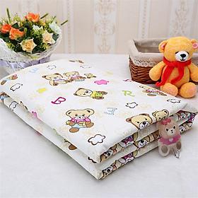 Tấm lót chống thấm cỡ lớn (Size 120 x 80 cm) tiện lợi, an toàn cho bé. Tấm lót cũi, lót giường đa năng 3 lớp