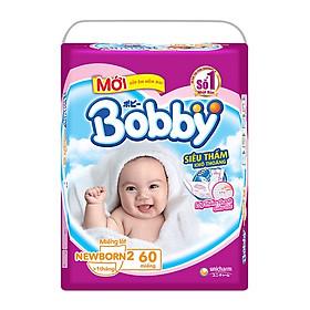 Miếng lót Bobby Fresh Newborn 2-60 miếng