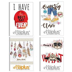 Vở kẻ ngang Haplus Souvenir 80 trang ( bộ 5 quyển )