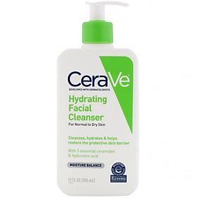 CeraVe Hydrating Cleanser - Sữa Rửa Mặt Cho Da Khô, Hỗn Hợp Khô Nhạy Cảm