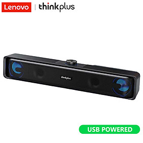 Loa Nghe Nhạc Lenovo TS32 USB Powered Speaker BT5.0/Audio Cable Dual Connection Modes Loudspeaker 360º Stereo Sound/Dual Speakers/Deep