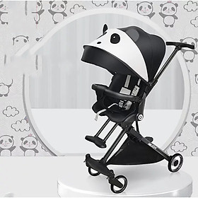 Xe đẩy em bé du lịch 4 bánh xoay 2 chiều ngã lưng 2 cấp độ cao cấp gấp gọn mái che chống năng lớn chống tia uv