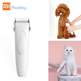 Xiaomi Mijia Pawbby Pet Shaver 2000mAh Removable Wash Safe Dog Cat Trimmer Grooming Low Vibration Low Noise Pet Supplies - White
