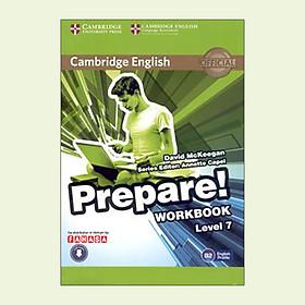 Cambridge English Prepare! Level 7 Workbook With Audio - FAHASA Reprint
