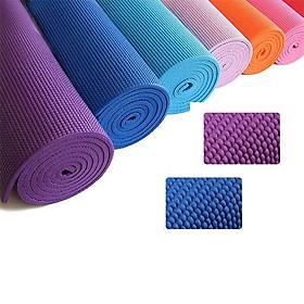 Thảm Tập Yoga 2 lớp, Thảm Tập Yoga TPE Chống Trơn Cao Cấp, Phù Hợp với Tập Yoga, Tập Thể Dục hoặc Tập Gym ( Tặng Kèm Túi Đựng)