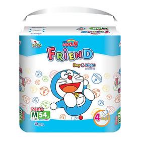 Combo 2 gói tã quần Goo.n Friend M54 thiết kế mới - tặng đồ chơi Toys house-1