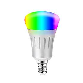 Bóng Đèn LED RGB+W Thông Minh Điều Khiển Từ Xa Bằng Wifi Điện Thoại Tương Thích Alexa V1-S E27 (11W)