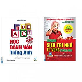 Combo Sách Học Tiếng Anh Thật Đơn Giản: Học Đánh Vần Tiếng Anh + Luyện Siêu Trí Nhớ Từ Vựng Tiếng Anh (tặng sổ tay mini dễ thương KZ)