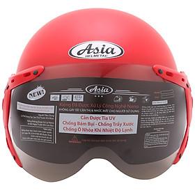 Mũ Bảo Hiểm 1/2 Đầu Asia MT-105K -