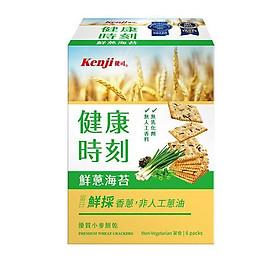 【Kenji】Bánh xốp vị rong biển hành lá tốt cho sức khỏe (120g/6 gói)