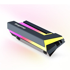 Tản nhiệt SSD M2 Segotep Led RGB dùng cho ổ SSD M2 chuẩn 2280 - Hàng nhập khẩu