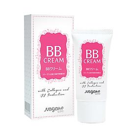 Kem Nền BB Collagen Nagano 20ml - BB Cream 20ml - Chứa chất chống nắng với chỉ số SPF35 bảo vệ da, Collagen giúp dưỡng ẩm và nuôi dưỡng da