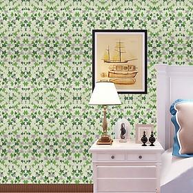 Giấy dán tường Lá phong xanh WP0006