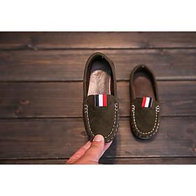 Giày Mọi Giày Lười Cho Bé Trai Cực Phong Cách, Ngầu - Có Size Cho Bé Từ 1 Tuổi Đến 5 Tuổi