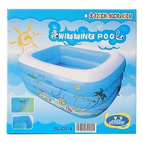 Bể Bơi Phao 3 Tầng 120cmx90cmx45cm
