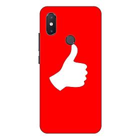 Ốp lưng điện thoại Xiaomi Mi 8 SE hình Bạn là Số 1 - Hàng chính hãng