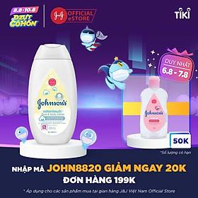 Sữa dưỡng ẩm Johnson's Baby mềm mịn (200ml)