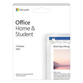 Phần mềm Office Home and Student 2019 English APAC EM Medialess P6 (79G-05143) – Hàng Chính Hãng