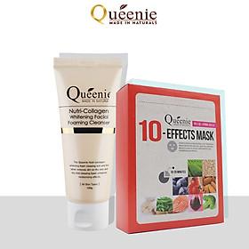 Bộ mỹ phẩm dưỡng ẩm da Queenie 2 sản phẩm