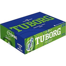 Thùng 24 Lon Bia Tuborg (24 lon  x 330ml)
