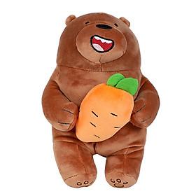 Gấu nâu nhồi bông Miniso (Nâu) - Hàng chính hãng