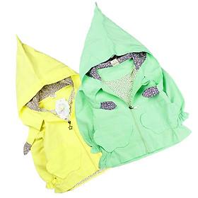 Áo khoác nón 12 đến 25 kg Quảng Châu cho bé gái 01658-02824