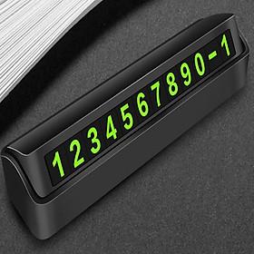 Bảng số điện thoại gắn taplo ô tô, xe hơi