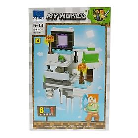 Bộ Xếp Hình - My World - 658 (LI60) - Mẫu 4 (124 Mảnh Ghép)