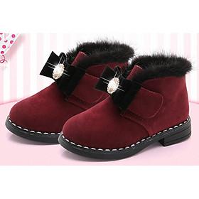 Giày Boot ( cao cấp )  cho bé gái phong cách hàn quốc - BBG09