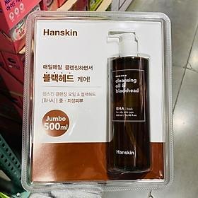 HANSKIN CLEANSING OIL 500ML